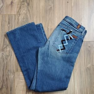 7 for All Mankind Justine Bootcut Jeans
